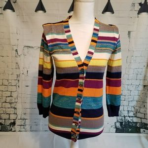 Marc by Marc Jacobs colorful cardigan